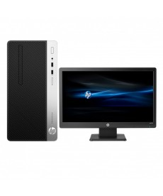 Pc de bureau HP ProDesk 400 G4 - Intel core i5-7500T - 8 Go - 1To Windows 10 Professionnel 64 bits