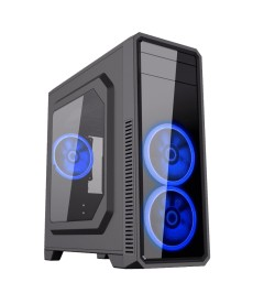 GameMax G561-F Red - Boitier PC Gaming