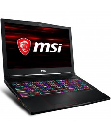 MSI GE63 8RE-614FR Raider intel core i7-8750H 8 GO SSD 256 GO + HDD 1 TO 15.6
