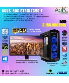 Asus Rog Strix Z390-F Intel core i9-9900K 64Go RAM - 3To SSD - 2 x NVIDIA GeForce RTX 1070 8Go GDDR5