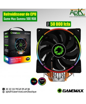VENTILATEUR CPU GAMEMAX GAMMA 500-RGB
