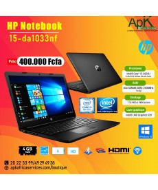 "HP NOTEBOOK 15-DA1033NF-15.6"" Intel Core i5 4 Go RAM 1 To  DDR"