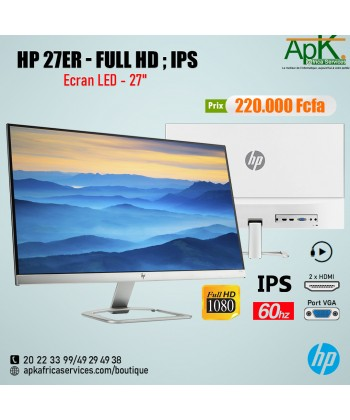 HP 27er 27 Full HD IPS – Monitor (1920 x 1080 Pixels, LED, Full HD, IPS