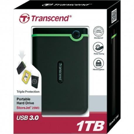 HDD Transcend StoreJet 25M3 1 To (USB 3.0) - externe