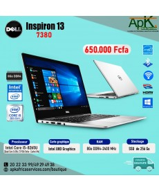 Dell Inspiron 13-7380-Full HD Silver (Intel Core i5, 8Go de RAM, SSD 256Go, Intel UHD Graphics 620, Win 10
