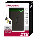 HDD Transcend StoreJet 25H3 2To (USB 3.0) - externe -Triple protection