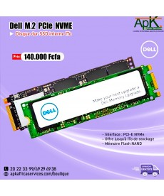 Dell M.2 PCIe NVME 1To- SSD Interne