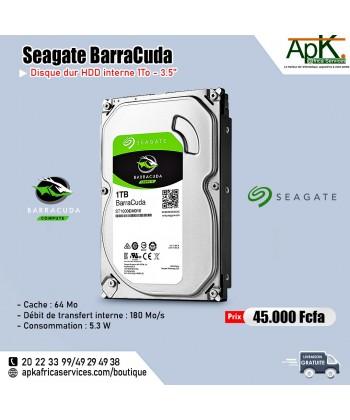 Seagate BarraCuda 4To -HDD Interne