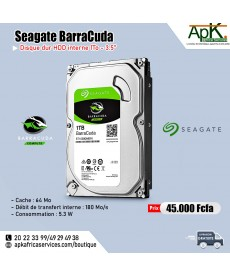 Seagate BarraCuda 1 To - HDD Interne