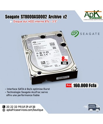 Seagate ST8000AS0002 Archive HDD 8To