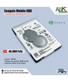 Seagate Mobile HDD 1 To- Portable