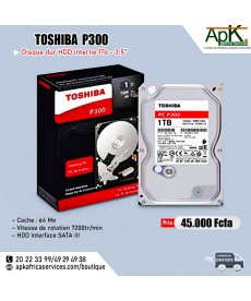 Toshiba P300 HDD  1To - interne portable