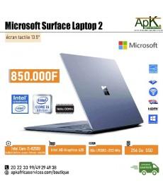 Microsoft Surface Laptop2 -Core I5- 16Go de RAM DDR4-256 SSD - Intel HD Graphics 620