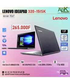 LENOVO Ideapad 32-15ISK-Intel Core i3- 4Go DDR4-1To HDD-HD Graphics 520-win10