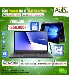 """ASUS Zenbook Flip 13 (UX362FA-EL274X)-Core I7 8565U- 8 Go LP DDR3- 512 Go SSD -Ecran 13,3"""" Full HD- Win10"""