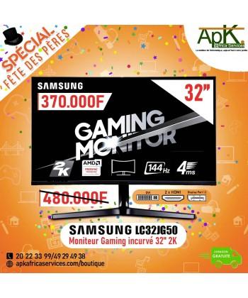 "SAMSUNG 2K moniteur 32"" LC32JG50 incurvé"