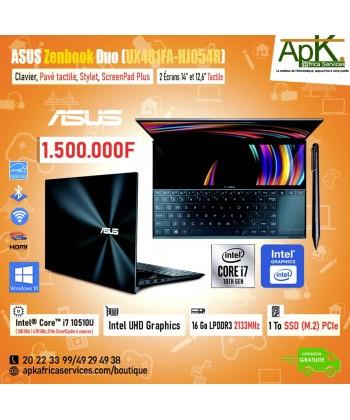 "ASUS ZenBook Duo UX481FA HJ054R - 14"" - Core i7 10510U - 16 Go RAM - 1 To SSD"