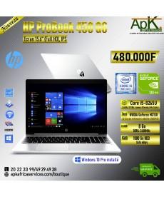 HP Probook 450 G6-Core I5 8265U - 8Go RAM DDR4- 1000 Go HDD - NVIDIA GeForce MX130 de 2 Go de mémoire GDDR5-Win10 Preinstallé