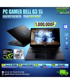 "Dell G3 15-Core I7-10750H 16 Go DDR4- 512Go SSD 15.6"" LED Full HD 300 Hz-NVIDIA GeForce GTX 1660Ti 6 Go-Win10"