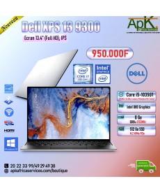 Dell XPS 13-9300-Intel Core i5, 8Go de RAM- 512Go SSD- Intel UHD Graphics -Win 10
