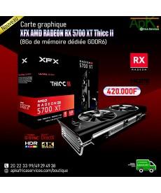 XFX AMD RADEON RX 5700 XT Thicc II- 8Go GDDR6