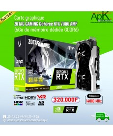 ZOTAC GAMING GeForce RTX 2060 AMP- 6Go GDDR6