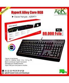 HyperX Alloy Core RGB- Clavier Français Azerty