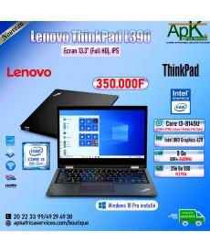 "Lenovo ThinkPad L390-Core I3-8145U-8 Go DDR4-256 Go SSD 15.6""  Full HD -Intel UHD Graphics 620-Win10"
