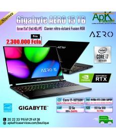 "Gigabyte Aero 15 YB-Intel Core i7 10750H-32 Go RAM DDR4- SSD 512 Go-NVIDIA GeForce RTX 2080 SUPER 8 Go 15.6"" -Win10"