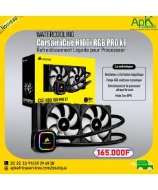 Corsair iCue H100i RGB PRO XT- Watercooling - Refroidissement liquide pour processeur