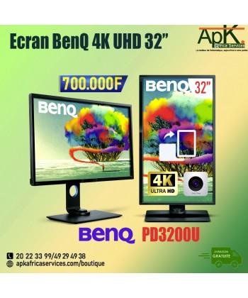 "Ecran 4K BenQ 32"" LED - PD3200U"