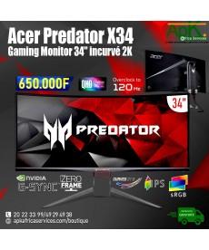 Acer Predator X34P- Ecran Gamer 2K 34