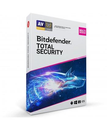 Bitdefender Total Security 2020 - Licence 5 postes 1 ans