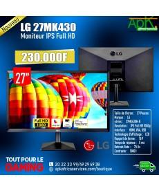 """LG LED 27MK430 MONIETEUR IPS FULL HD 27"""""""