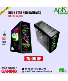ROCK STAR RGB GAMEMAX - Boitier Gaming