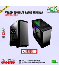PALADIN T801 BLACK ARGB GAMEMAX- Boitier Gaming