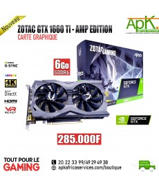 ZOTAC Gaming GeForce GTX 1660 Ti AMP EDITION-6 GO GDDR6