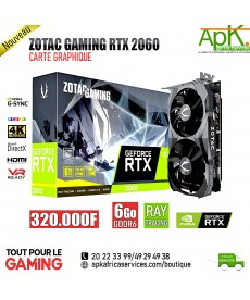 ZOTAC GAMING GeForce RTX 2060 -Carte Graphique  6Go GDDR6