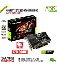 Gigabyte GeForce GTX 1050 Ti OC- Carte Graphique 4Go GDDR5