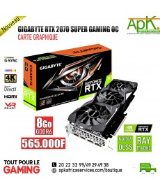 Gigabyte GeForce RTX 2070 SUPER GAMING OC - Carte Graphique- 8Go DDR6