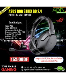 ASUS ROG STRIX GO- Casque Gaming sans fil 2.4 Ghz-USB-C