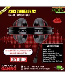 ASUS CERBERUS V2 - casque Gaming Filaire