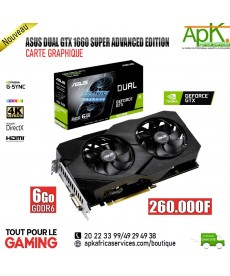 ASUS DUAL GTX 1660 SUPER ADVANCED EDITION- 6Go DDR6- Carte Graphique