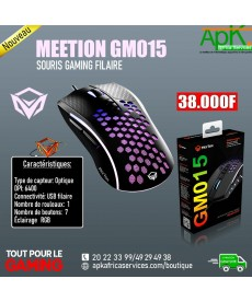 MEETION GM015- SOURIS GAMING FILAIRE