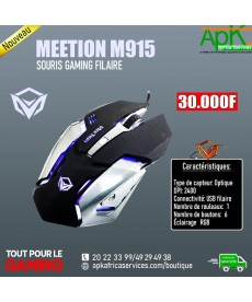 MEETION M915- SOURIS GAMING FILAIRE