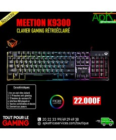 MEETION K9300- CLAVIER GAMING RETROECLAIRE