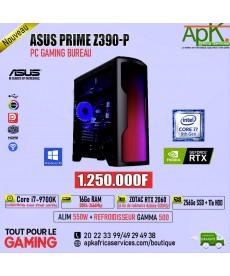ASUS PRIME Z390-P-Core I7-9700K-16Go RAM DDR4-256 SSD+1To HDD- ZOTAC RTX 2060 6Go GDDR6