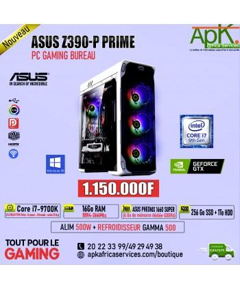 ASUS PRIME Z390-P PRIME-Core I7-9700K-16Go RAM DDR4-256 SSD+1To HDD-ASUS PHOENIX 1660 SUPER 6Go GDDR6