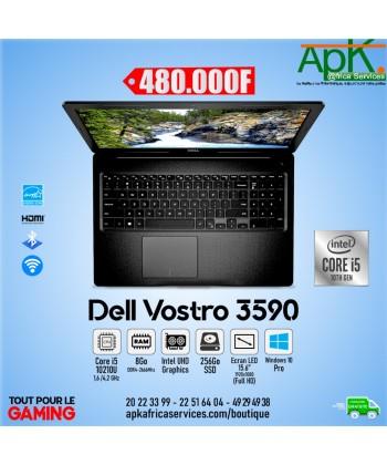 """Dell Vostro 3590- Core i5-10210U- 8 Go RAM DDR4- 256 SSD- Intel UHD Graphics-15.6 """"FHD"""