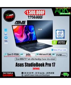 ASUS ProArt StudioBook Pro 17- Intel Core i7-9750H-64 Go DDR4- 2To SSD NVMe - NVIDIA Quadro RTX 3000 6 Go - Win 10